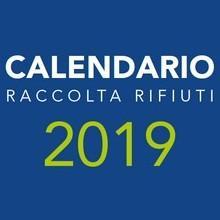 Calendario raccolta rifiuti 2019