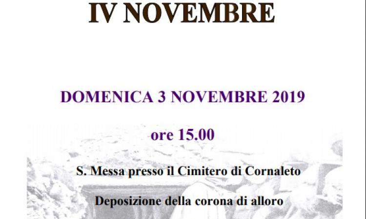 Locandina Commemorazione IV Novembre